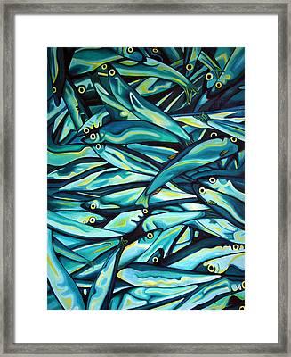 Capelin Run Framed Print by Graham Matthews