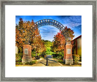 Caperton Trail Framed Print by Steven Ainsworth