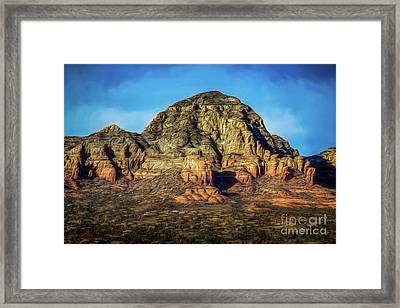 Capital Butte Framed Print by Jon Burch Photography