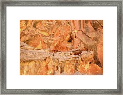 Capitol Gorge Wall Art Framed Print by Ray Mathis