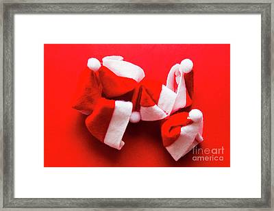 Capping Off A Merry Christmas Framed Print by Jorgo Photography - Wall Art Gallery