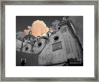 Capri Church Framed Print by Jim Wright