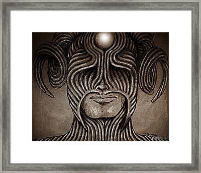 Capricornus Framed Print by Paulo Zerbato