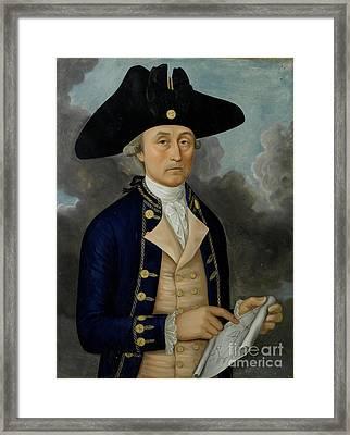 Captain Joseph Huddart Framed Print by MotionAge Designs