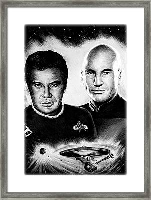 Captains Framed Print by Andrew Read