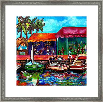 Captains Walk Framed Print by Patti Schermerhorn