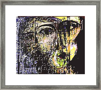 Captive Framed Print by Noredin Morgan