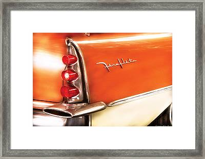 Car - The Wing Framed Print by Mike Savad