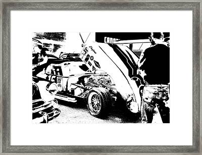 Cruise Night Chat Framed Print by Paul Wash