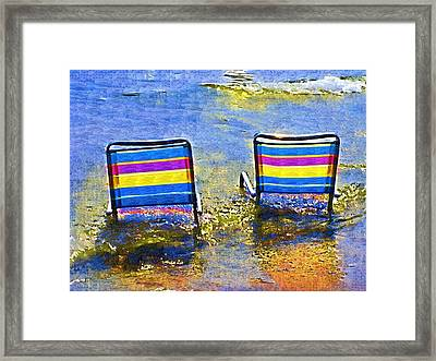 Care To Join Me Framed Print by Deborah MacQuarrie