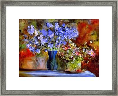 Caress Of Spring - Impressionism Framed Print by Georgiana Romanovna