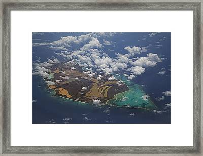 Caribbean High Framed Print by Betsy Knapp