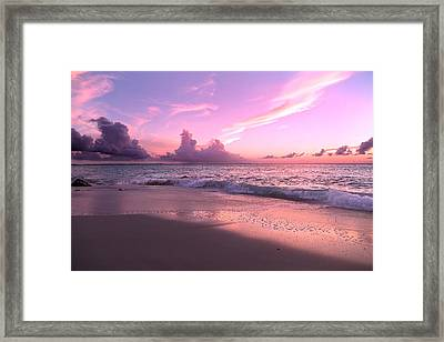 Caribbean Tranquility  Framed Print by Betsy Knapp
