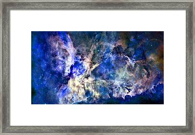 Carinae Nebula Framed Print by Michael Tompsett