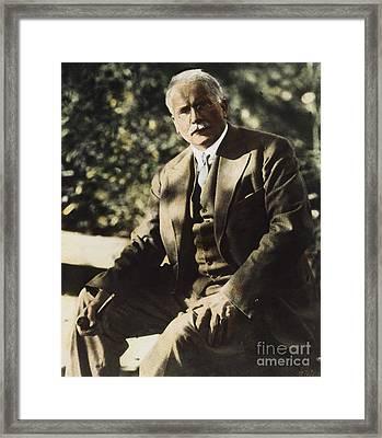 Carl G. Jung  Framed Print by Granger