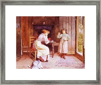 Carlton Alfred Framed Print by Carlton Alfred