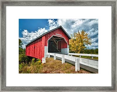 Carlton Bridge Framed Print by Fred LeBlanc