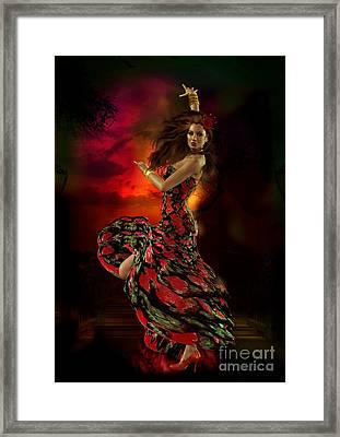Carmen Framed Print by Shanina Conway