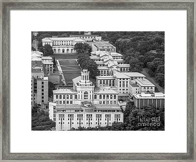 Carnegie Mellon University Campus Framed Print by University Icons