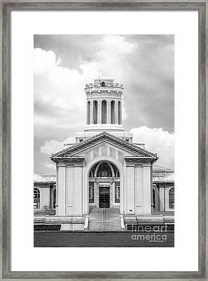 Carnegie Mellon University Hamerschlag Hall Main  Framed Print by University Icons