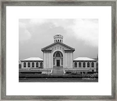 Carnegie Mellon University Hamerschlag Hall Framed Print by University Icons