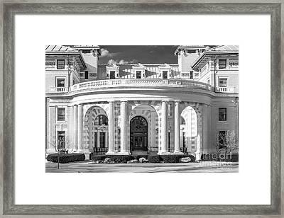Carnegie Mellon University Margaret Morrison Carnegie Hall Framed Print by University Icons