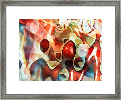 Carnevale Illusion Framed Print by Lauren Goia