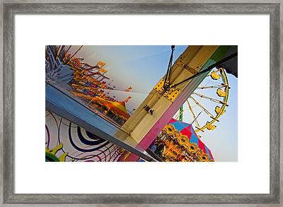 Carnival 1 Framed Print by Skip Hunt