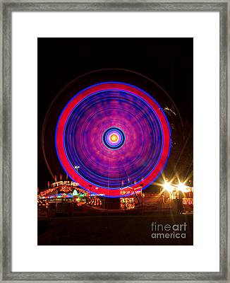 Carnival Hypnosis Framed Print by James BO  Insogna