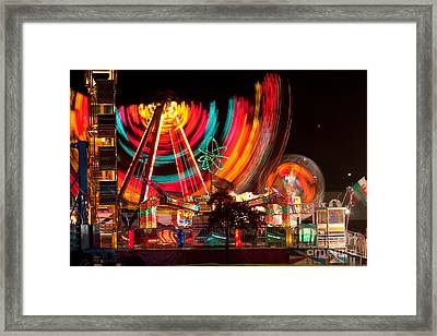 Carnival In Motion Framed Print by James BO  Insogna