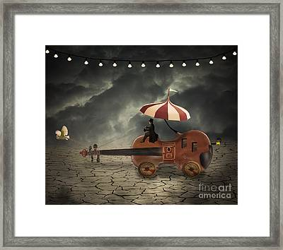 Carnival Man Framed Print by Juli Scalzi