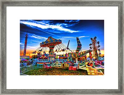 Carnival Framed Print by Olivier Le Queinec