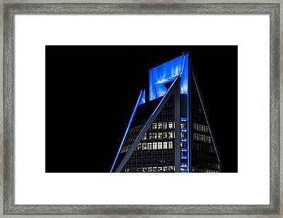 Carolina Blue - Energy Framed Print by Chris Austin