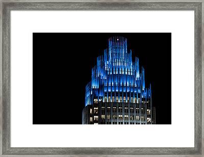Carolina Blue - The Top Framed Print by Chris Austin