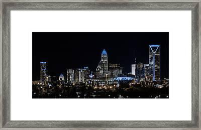 Carolina Blue - Westside Framed Print by Chris Austin