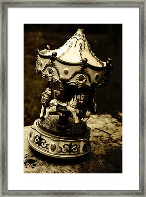 Carousel II Framed Print by Off The Beaten Path Photography - Andrew Alexander