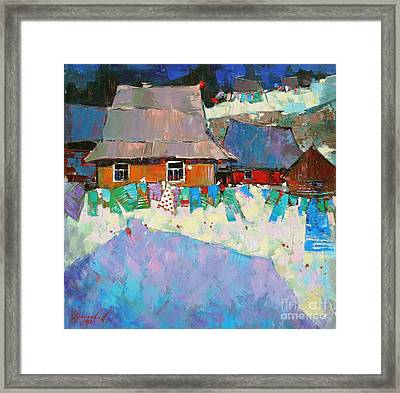 Carpathian Assorted Framed Print by Anastasija Kraineva