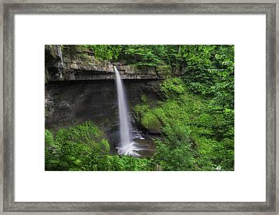 Carpenter Falls 2 Framed Print by Mark Papke