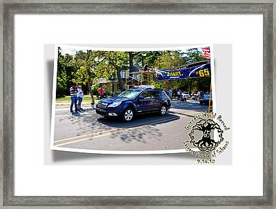 Cars Crossing 114 Framed Print by PhotoChasers