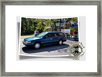 Cars Crossing 59 Framed Print by PhotoChasers