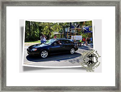 Cars Crossing 71 Framed Print by PhotoChasers