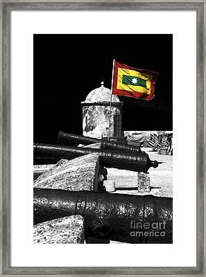 Cartagena Walled City Framed Print by John Rizzuto
