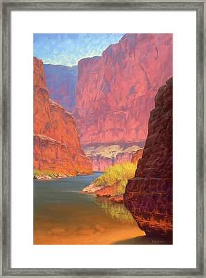 Carving Castles Framed Print by Cody DeLong