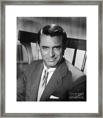 Cary Grant (1904-1986) Framed Print by Granger