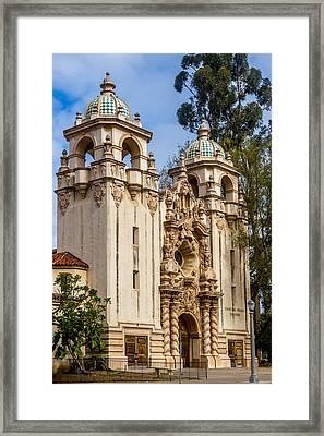 Casa Del Prado Theatre Framed Print by Bill Gallagher