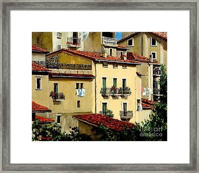 Casa Del Sol Framed Print by Michael Swanson