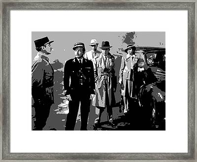 Casablanca Framed Print by Charles Shoup