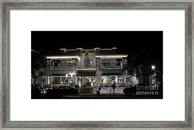Casablanca Inn Framed Print by D Hackett