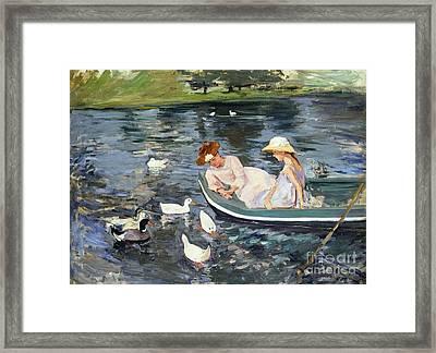 Cassatt: Summertime, 1894 Framed Print by Granger