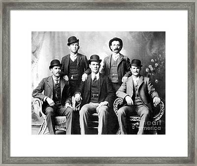 Cassidy And Longbaugh Framed Print by Granger